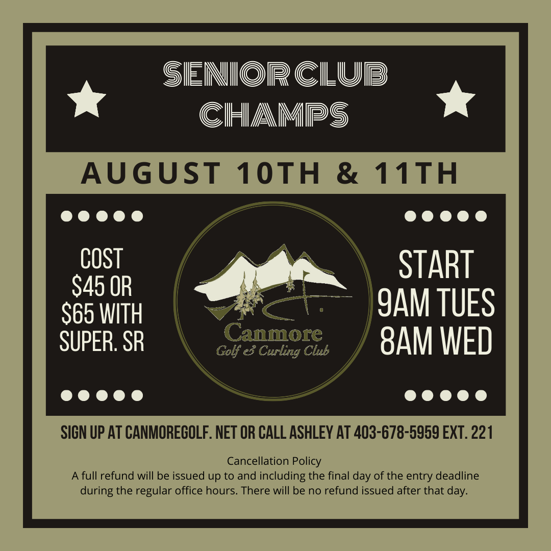 Senior Men's Club Championship